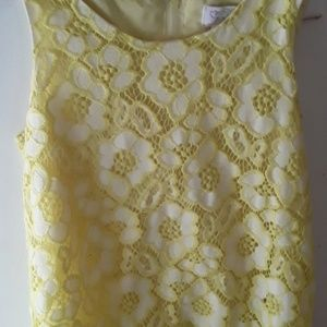 A beautiful yellow dress from children's place